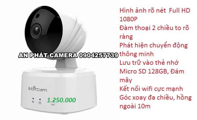 Camera Ip Wifi Ebitcam E2 5